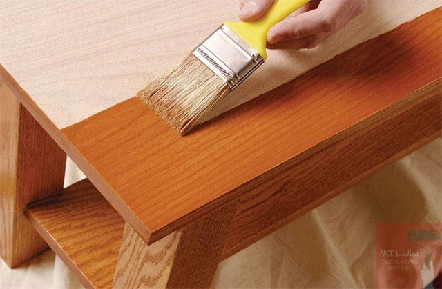 Wood Staining Services